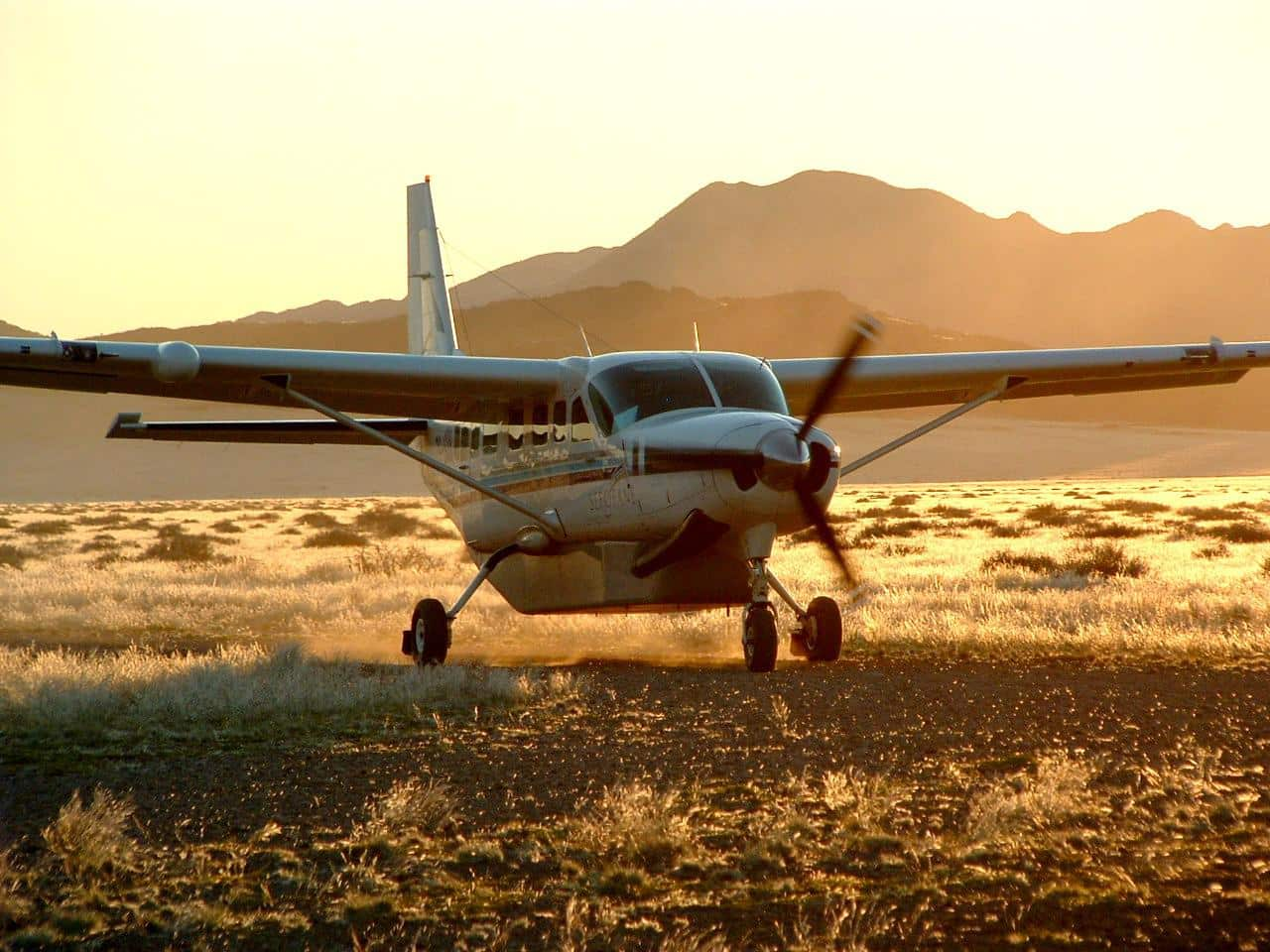 Light aircraft Namib II